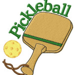 pickleball embroidered
